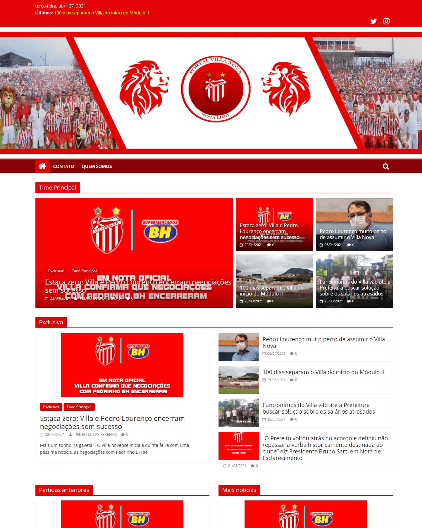 Site Portal Villa Nova